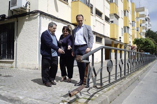 """Ciudadanos critica el """"abandono"""" del distrito Macarena de Sevilla"""