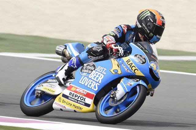 Aaron Canet queda en segunda posición en una de las carreras en Catar