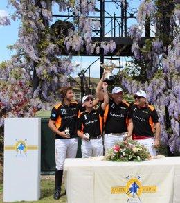 Equipo ganador del XVI Memorial Conde de Guaqui