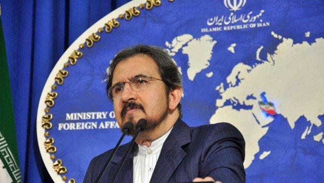 El portavoz del Ministerio de Asuntos Exteriores iraní, Bahram Qasemi