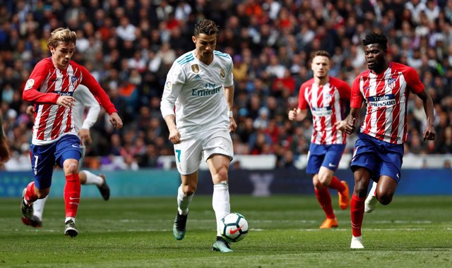 Antoine Griezmann Cristiano Ronaldo Real Madrid Atlético