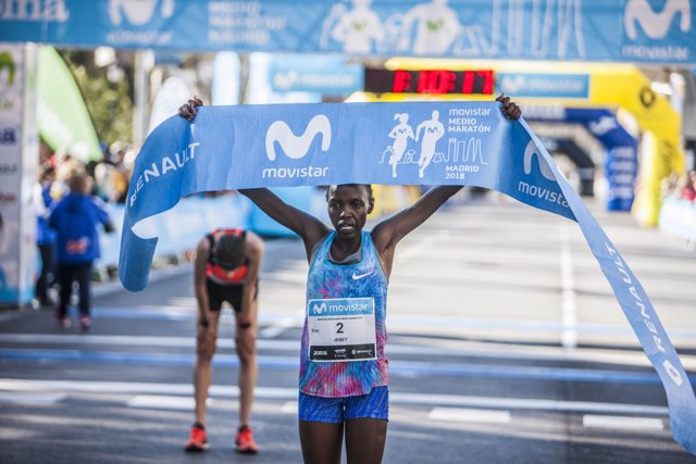 Naomi Jebet Movistar Medio Maratón Madrid