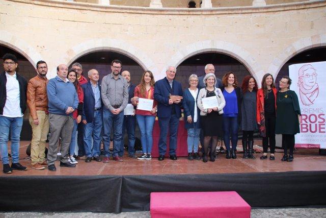 Entrega premios Rosa Bueno 2018