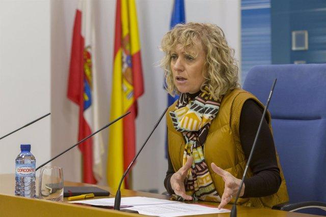 Rueda de prensa de la vicepresidenta, Eva Díaz Tezanos, en el Gobierno