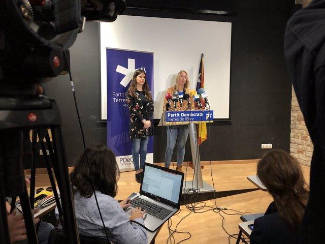 Rueda de prensa de la exdirectora del ISPC Annabel Marcos