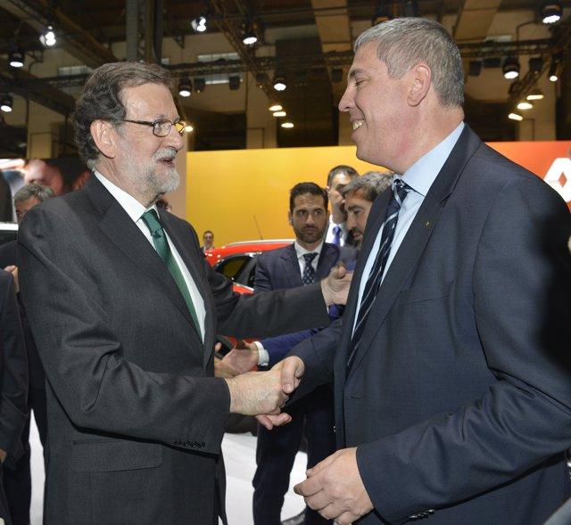 José Vicente de los Mozos y Mariano Rajoy