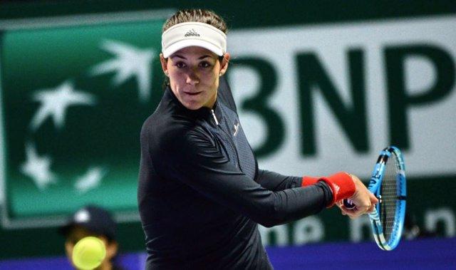 Garbiñe Muguruza, en el WTA Finals