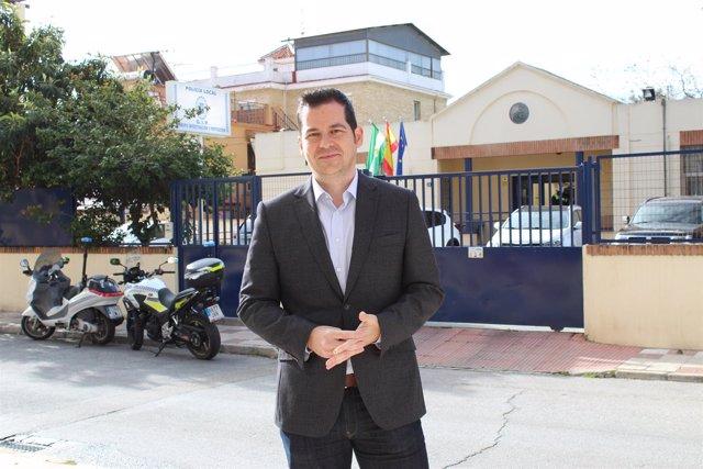 Alejandro Carballo, viceportavoz de Cs en Ayuntamiento de Málaga