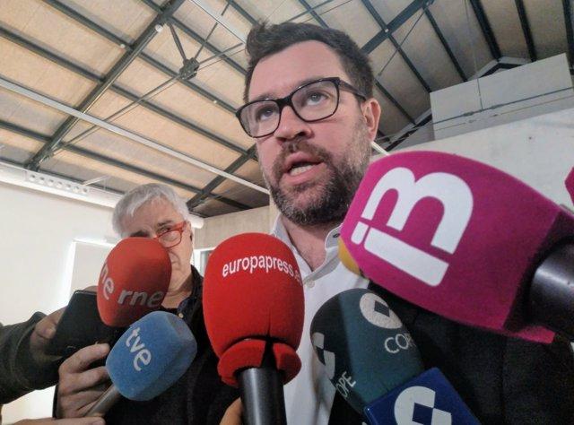 Alcalde de Palma Antoni Noguera, declaraciones a la prensa