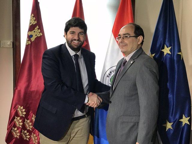 Fernando López Miras y Antonio Rivas