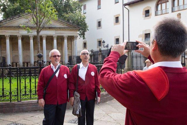 Visitantes de Juntas de Gernika