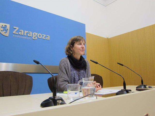 La concejal de Movilidad y Medio Ambiente de Zaragoza, Teresa Artigas.