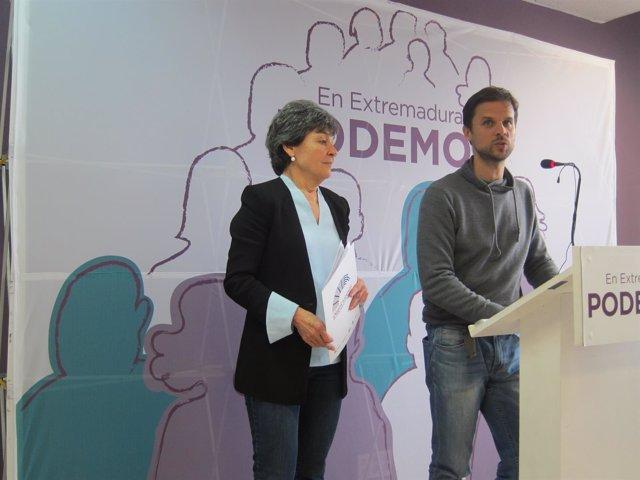 Álvaro Jaén  y Amparo Botejara