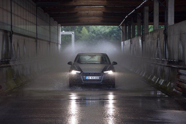 Pruebas de Audi