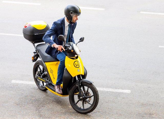 Motocicleta de Muving