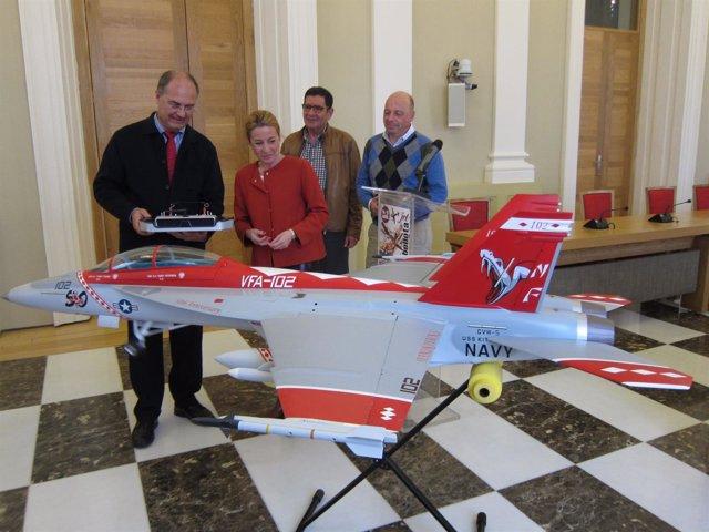 Presentación del XXV Bellota Jet de Cáceres