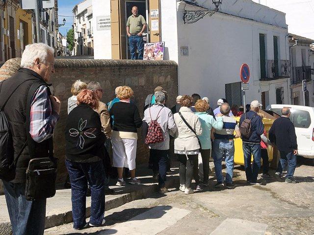 Turistas Antquera