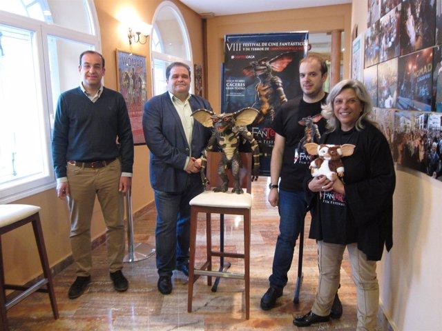 Presentación del VIII Fanter Film Festival de Cáceres