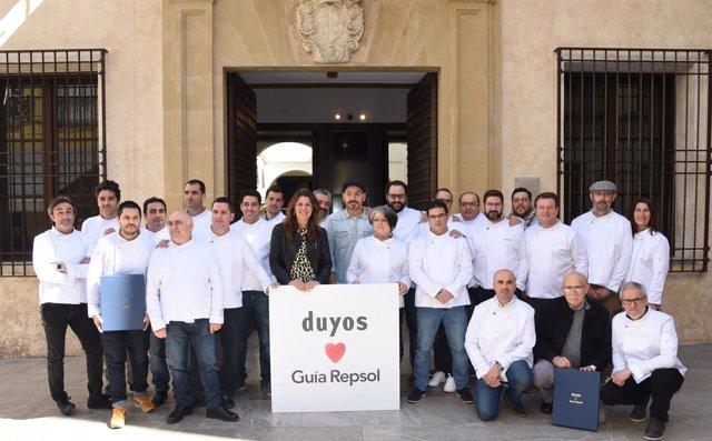 Chaquetillas tencología e innovación Guía Repsol entrega Málaga Soles