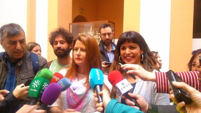 Susana Serrano y Teresa Rodríguez