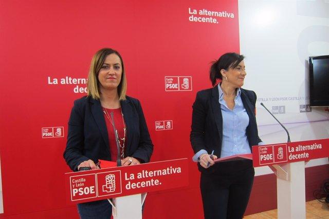 Sánchez y Barcones en rueda de prensa 9/04/2018