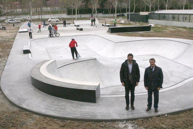 Plaza de Skate en Tres Cantos