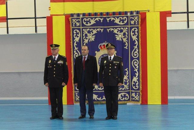 Toma posesión jefe provincial Policía Toledo