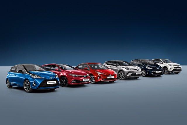 Gama híbrida de Toyota