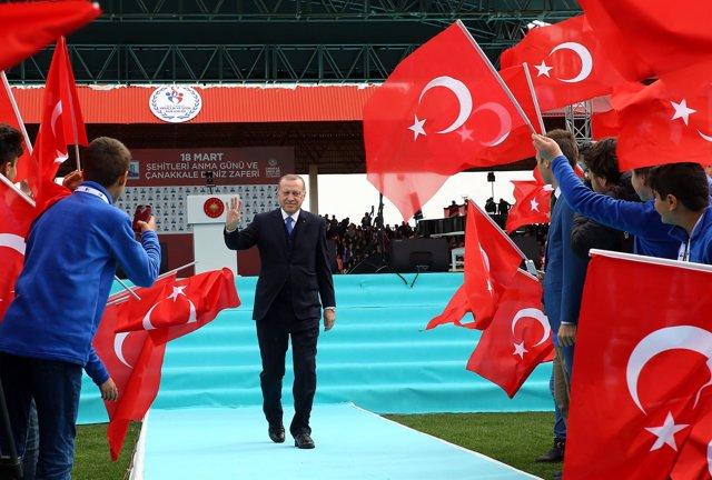Imagen de archivo de Recep Tayyip Erdogan