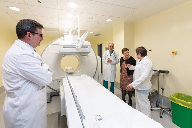 Real visita medicina nuclear