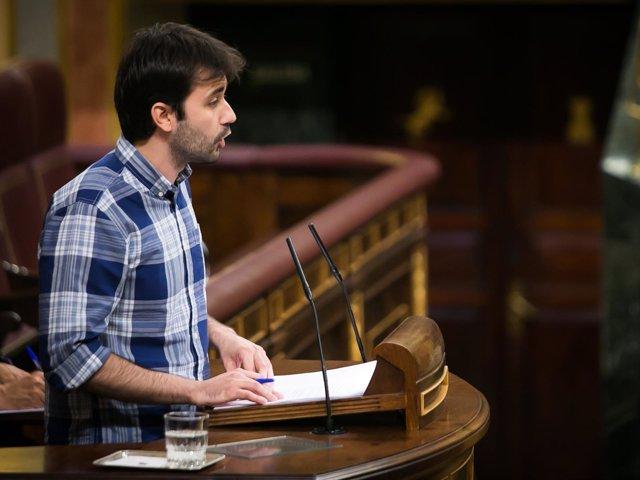 Javier Sánchez, diputado de Unidos Podemos