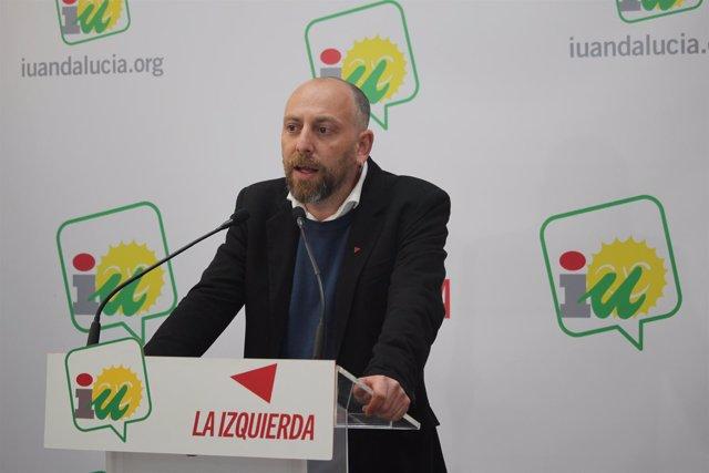 El coordinador de la Dirección Colegiada de IULV-CA, Ernesto Alba