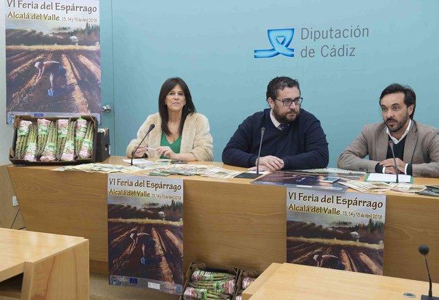Presentación de la VI Feria del Espárrago de Alcalá del Valle