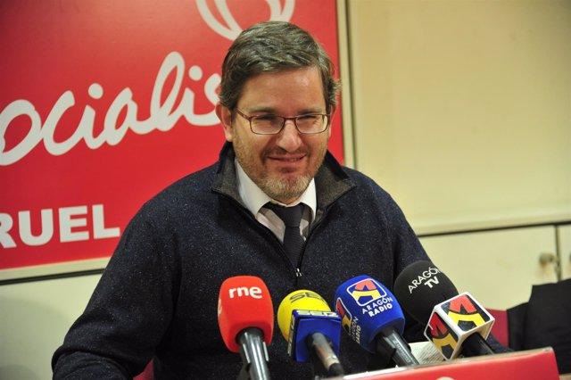El diputado Ignacio Urquizu (PSOE)