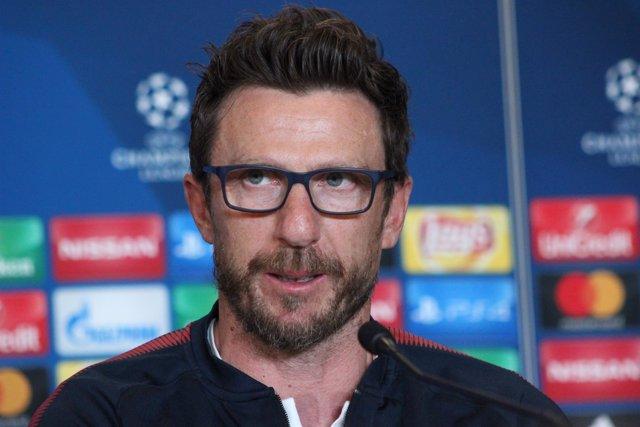 Eusebio Di Francesco (entrenador AS Roma)