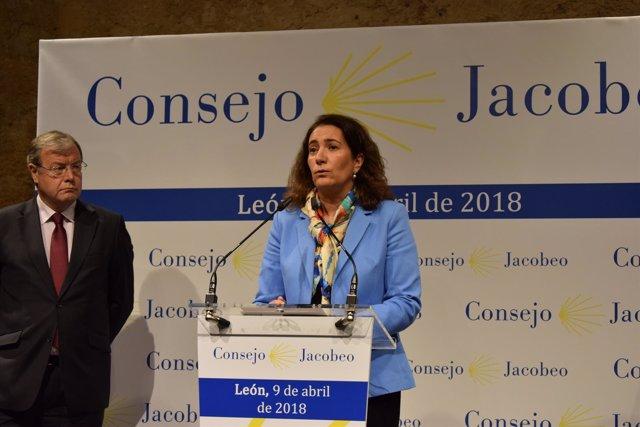 Ciran en León en el Consejo Jacobeo 9-4-2018