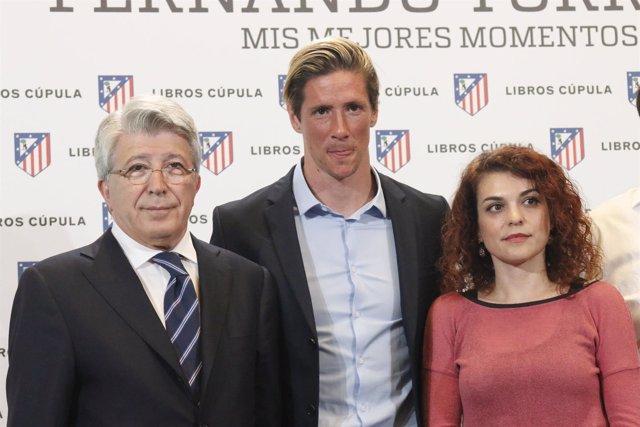 Fernando Torres y Enrique Cerezo