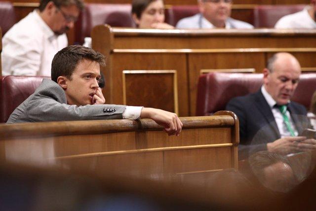 Íñigo Errejón en el Congreso