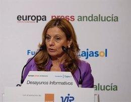La Consejera de Salud, Marina Álvarez, en los Desayunos Informativos.