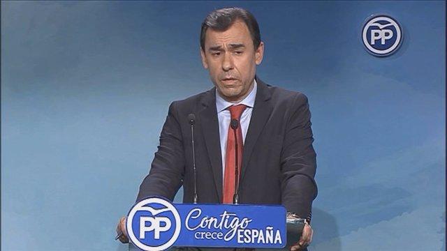 Fernando Martínez-Maillo, valora la negociación con Ciudadanos