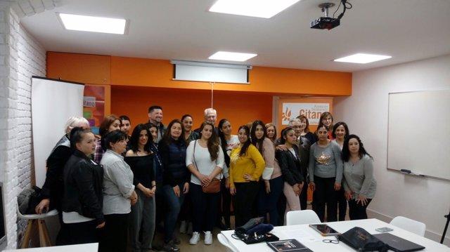 Inauguración del aula en León, 9-4-18