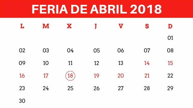 Calendario Sevilla.Cuando Es La Feria De Abril De Sevilla 2018 Calendario Y Festivos