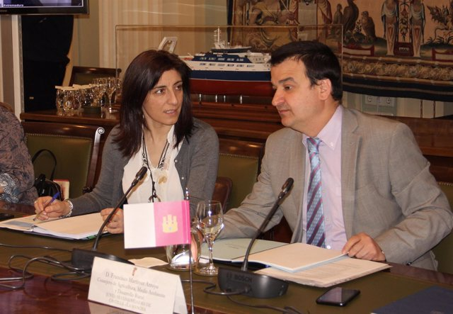 Angeles Vázquez en el Consello Consultivo de Politica Agrícola