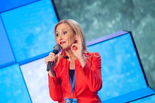 Cristina Cifuentes participa en la Convención del PP