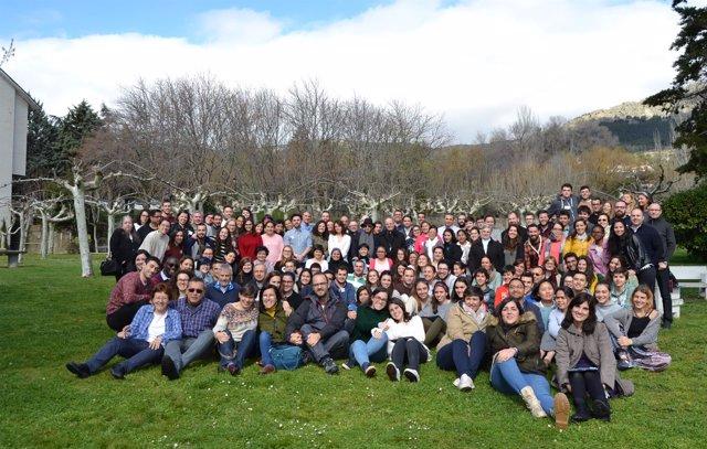 Participantes del XV Encuentro Misionero de Jóvenes