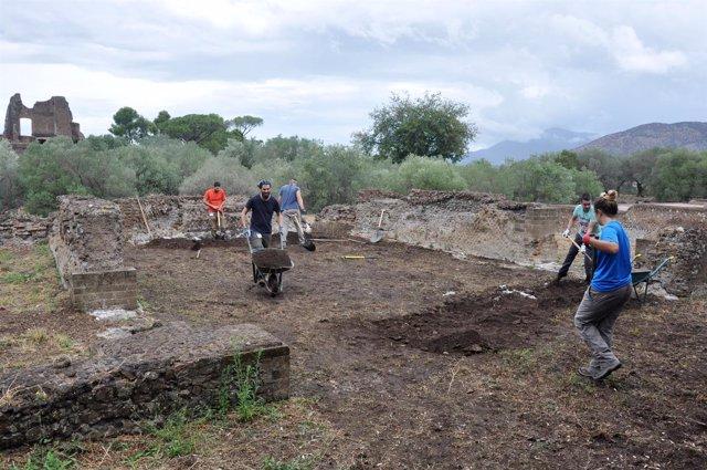 La UPO comienza en Roma la sexta campaña de excavaciones en Villa Adriana