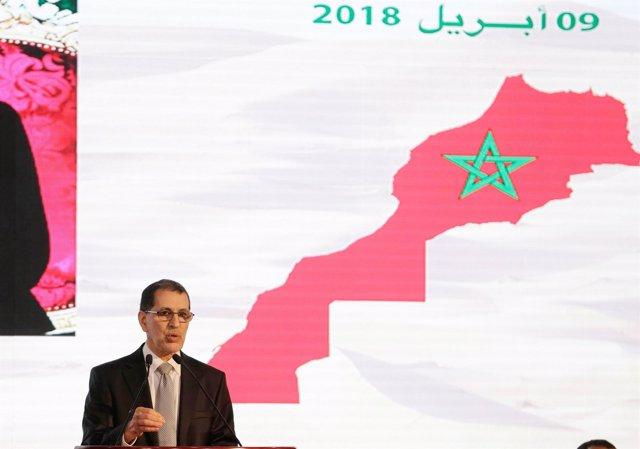 El primer ministro marroquí, Saadeddine el Othmani