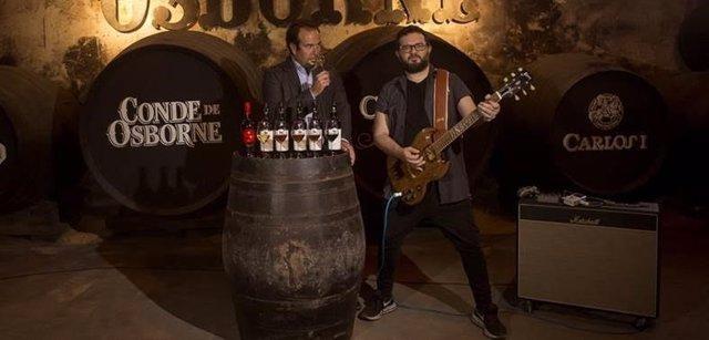 Maridaje de rock y vino en Vinoble