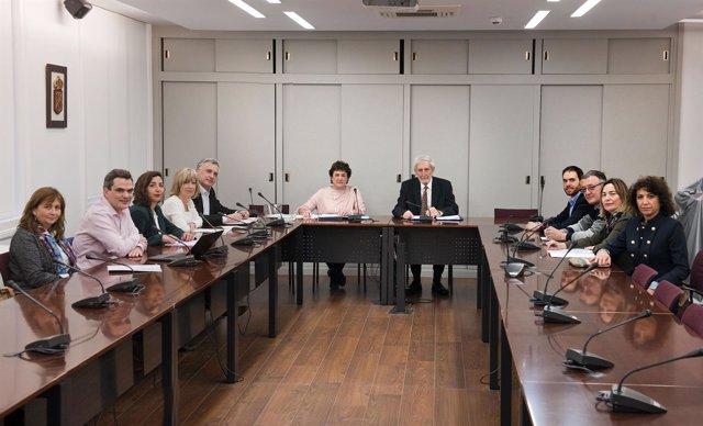Sesión del Consejo de la Transparencia de Navarra
