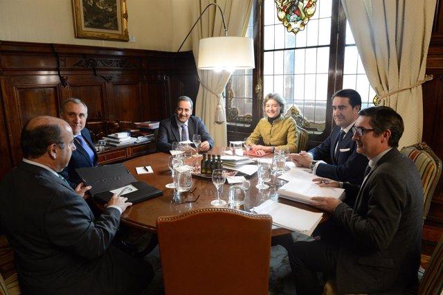 Reunión preparatoria del Centenario de Picos de Europa
